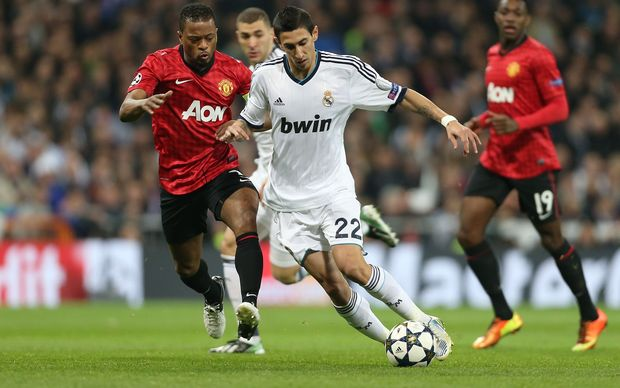 Angel Di Maria who is set to sign a record deal with Manchester United.
