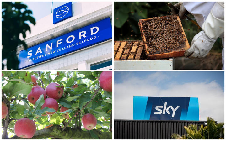 Sanford, honey producer and exporter Comvita, Scales apple exporter and Sky Television have confirmed their status as 'essential services'.