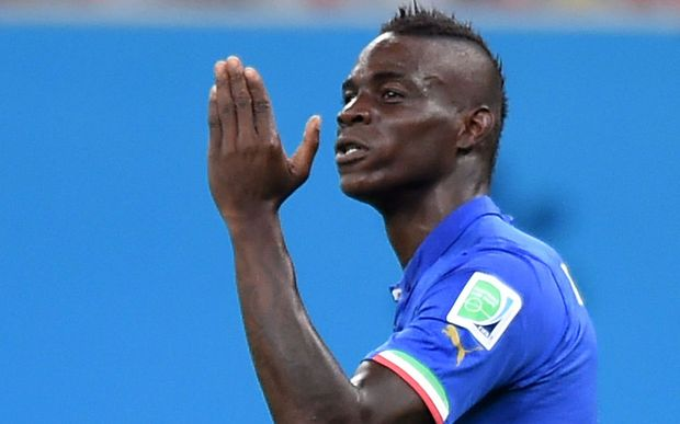 Italy striker Mario Balotelli says goodbye to Milan and hello to Liverpool.