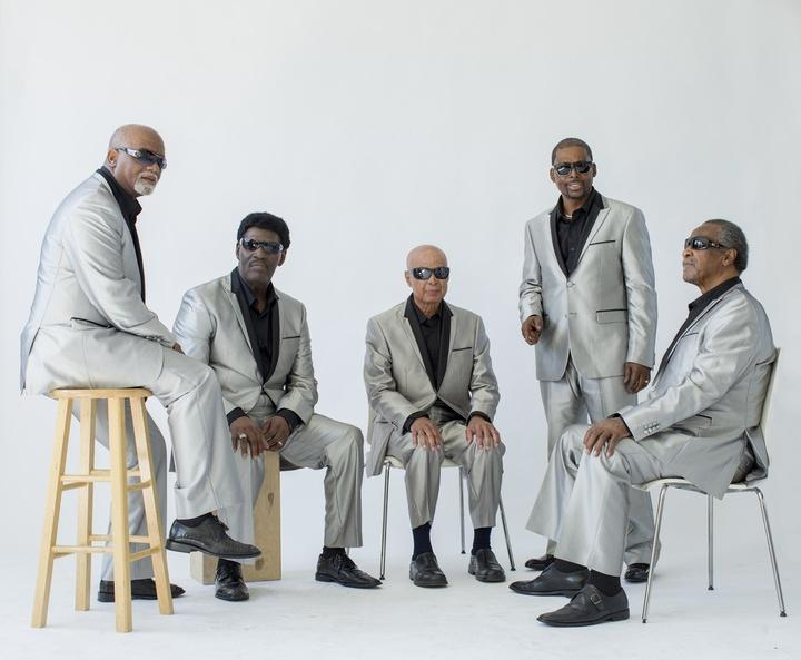 The Blind Boys of Alabama (Jimmy Carter centre)