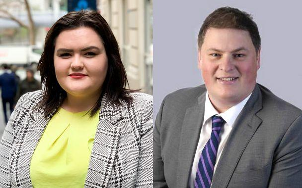 Employment law experts Ashleigh Fechney and Simon Martin.