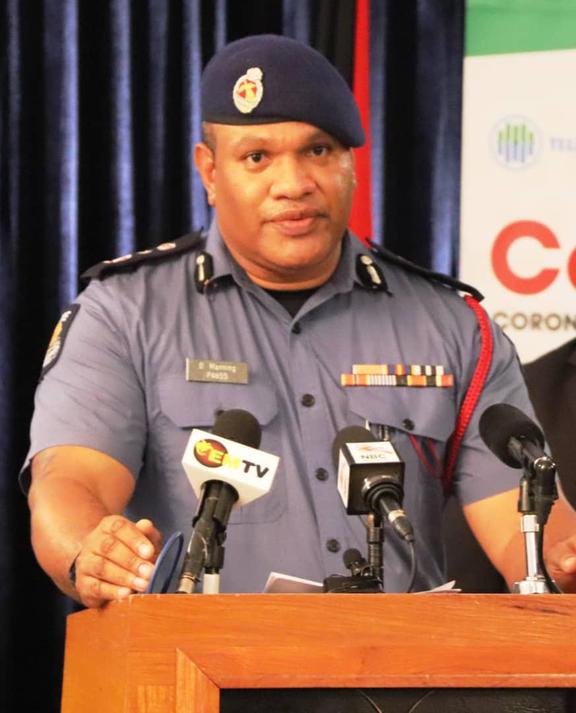 David Manning, người đứng đầu quản lý thảm họa của Papua New Guinea