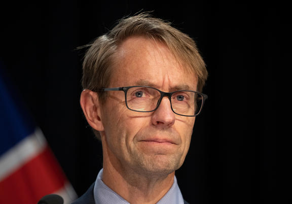 Director-General of Health Ashley Bloomfield at a media briefing at Parliament about the Covid-19 coronavirus.