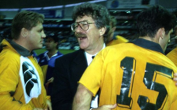 Bob Dwyer who in 1991, guided the Wallabies to the World Cup.
