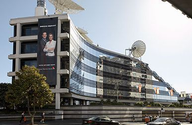 The TVNZ building in Auckland.
