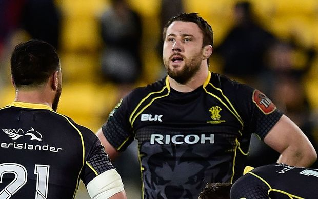 Wellington's All Black Jeremy Thrush cuts a dejected figure after the Lions' third straight loss