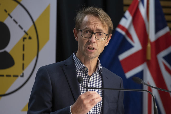 Director General of Health Dr Ashley Bloomfield during the All of Government Covid-19 update media conference, at Parliament, on Day 33 of the Covid-19 coronavirus lockdown. 27 April, 2020.