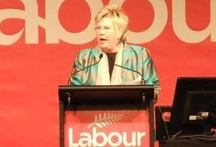 Labour Party president Moira Coatesworth.