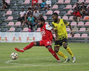 The PNG National Soccer League was suspended in mid March.