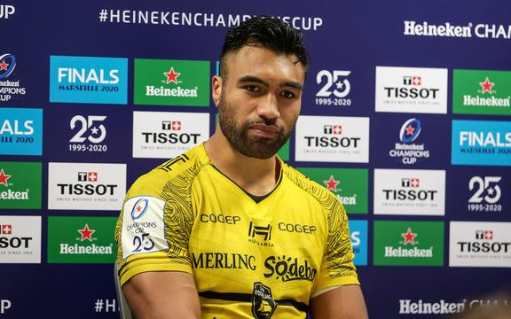 Former All Black Victor Vito with French club La Rochelle.