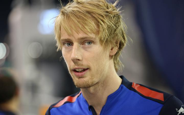 New Zealand race driver Brendon Hartley.