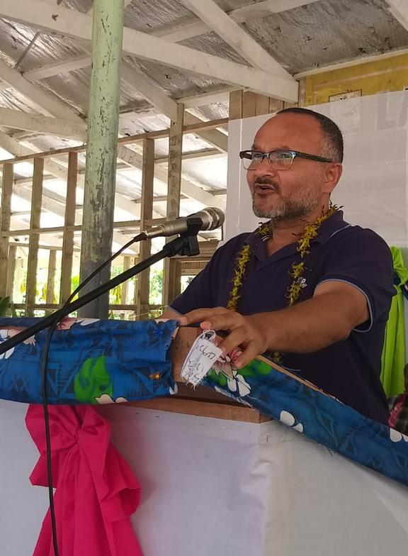 Matthew Wale is the Leader of Opposition  in Solomon Islands.