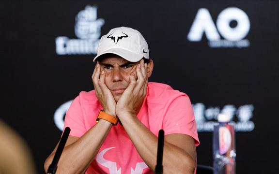 El gran tenis español Rafael Nadal.
