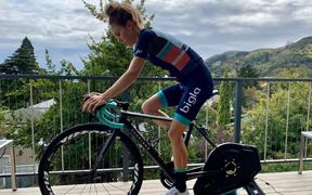 New Zealand cyclist Niamh Fisher-Black