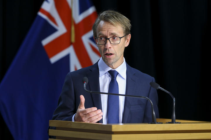 Director-General of Health Ashley Bloomfield speaks to media during a Covid-19 update conference at Parliament on May 12, 2020 in Wellington.