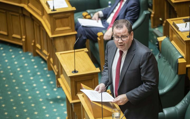 Grant Robertson delivers Budget 2020.