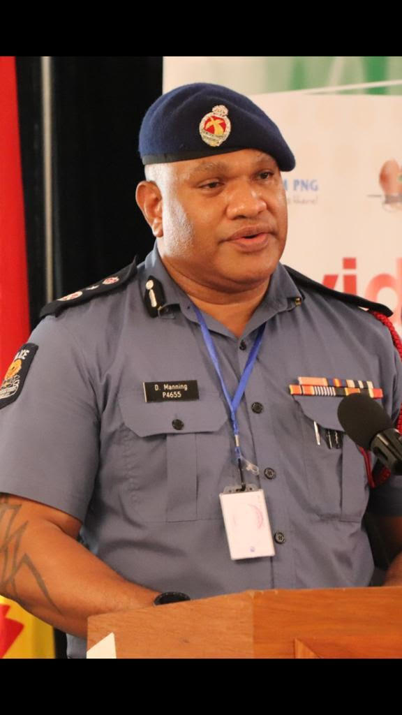David Manning, PNG's State of Emergency Controller and Police Commissioner.