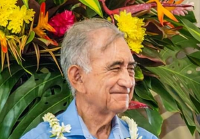 Oscar Temaru, mayor of Faaa since 1983