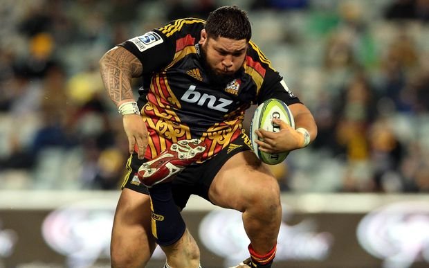 Chiefs and Waikato prop Ben Tameifuna