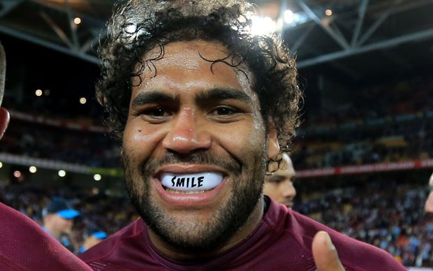 Brisbane and Queensland rugby league player Sam Thaiday.