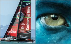 Team New Zealand's America's Cup yacht Te Aihe may continue to sail alone if rivals are not allowed into New Zealand. Meanwhile film crews for the Avatar movies appear to have been given special permission to enter the country.