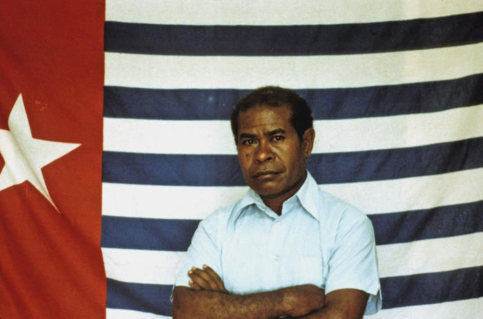 Seth Jafeth Rumkorem, the proclamator of the Republic of West Papua on 1 July,1971.
