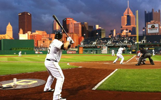 PNC baseball park, home of the Pittsburgh Pirates.
