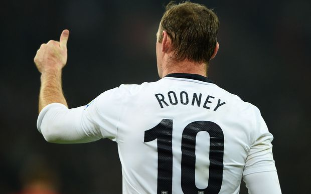 Manchester United and England striker Wayne Rooney