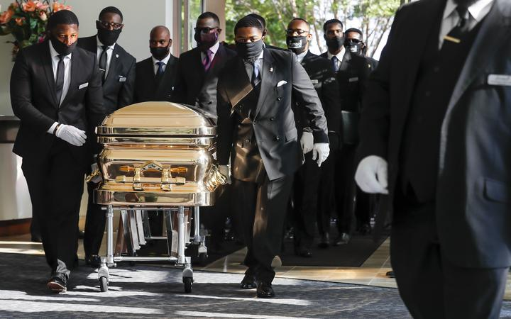 George Floyd S Funeral Service Held In Houston Rnz News