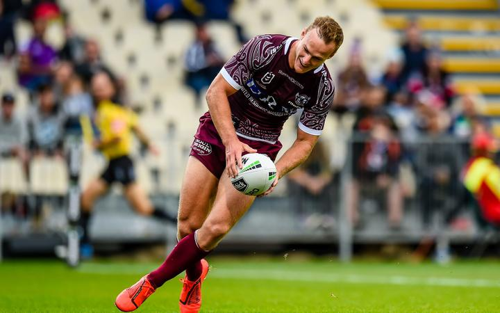 Daly Cherry-Evans of the Manly Sea Eagles.