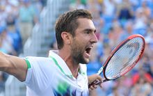 The Croatian tennis player Marin Cilic