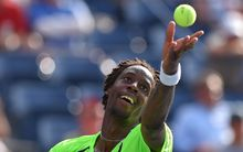 French tennis player Gael Monfils