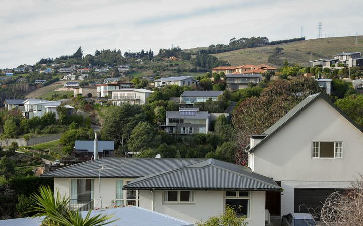 Generic houses in NZ - pic taken in Chch June 2020