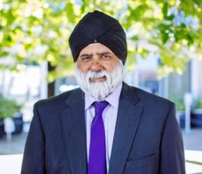 The University of the South Pacific's Vice Chancellor, Pal Ahluwalia.