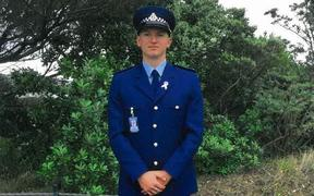 Constable Matthew Dennis Hunt, who was shot and later died in Auckland.