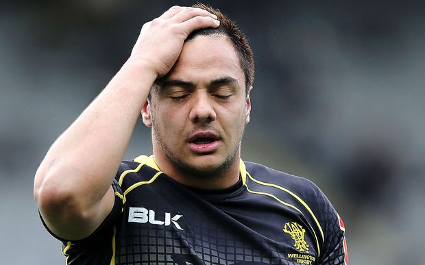 Wellington fly-half Chase Tiatia wonders what went wrong.