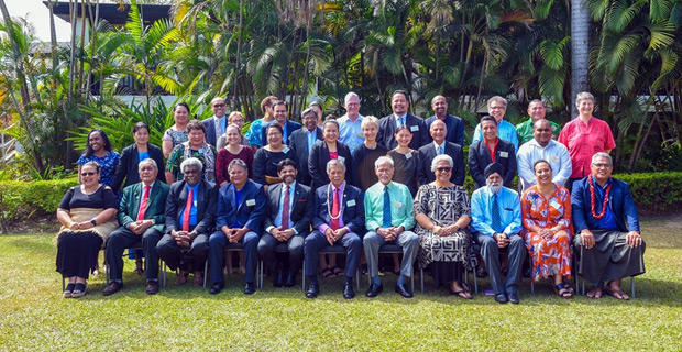 The USP Council at a meeting last year.