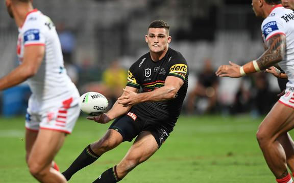 Nathan Cleary of Penrith.