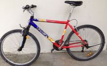 Police have located a black mountain bike, but are also seeking information about this coloured bike that was found last week.