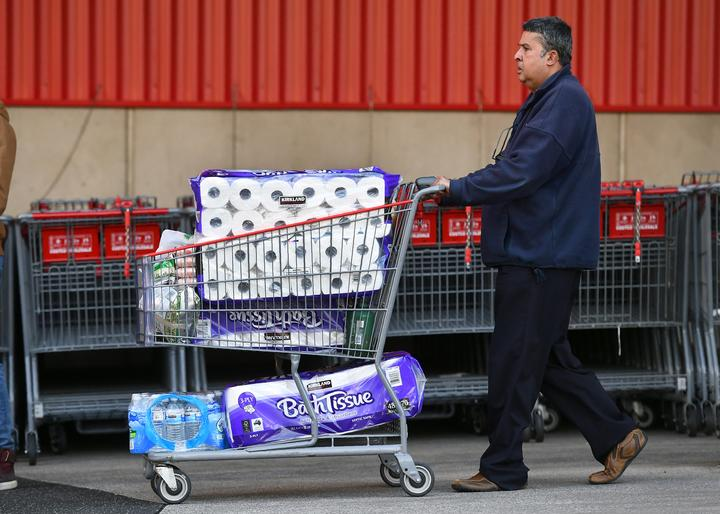 A second wave of COVID-19 has sparked a rush on some items in Melbourne, and supermarkets have imposed buying restrictions.