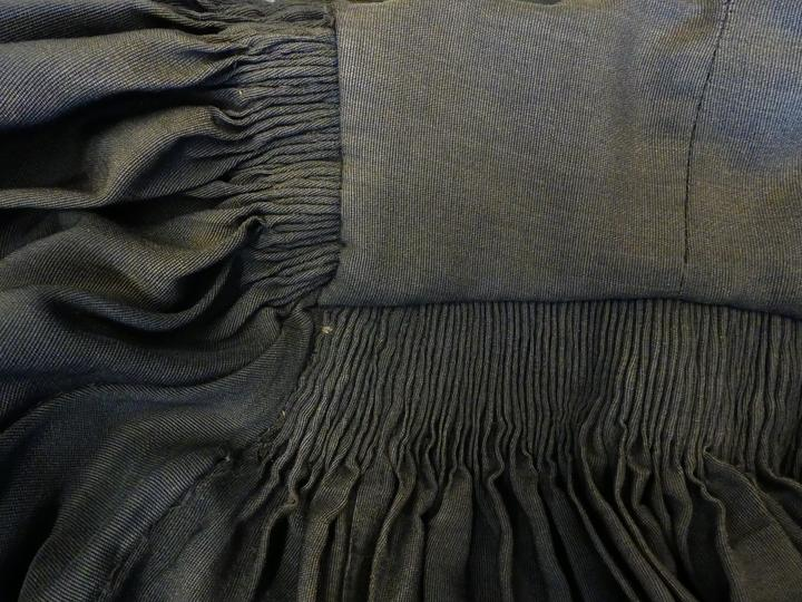 Detail of a gown worn by Marion Steven – one of the many artefacts from University of Canterbury's past.