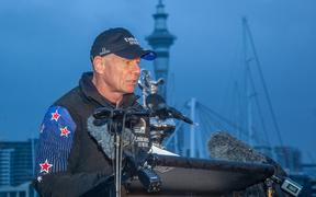 Emirates Team New Zealand CEO Grant Dalton.