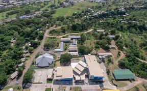 An aerial view of SINU