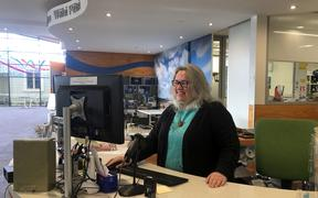 Carterton librarian Andrea Darbyshire is one of dozens of council staff who agreed to a pay freeze.