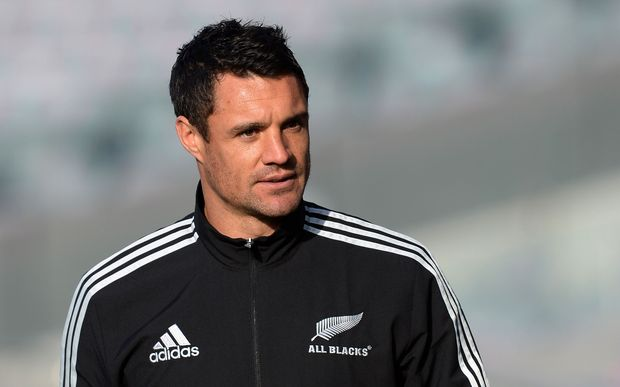 All Black first five Dan Carter