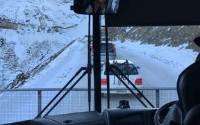 Mt Hutt traffic jam