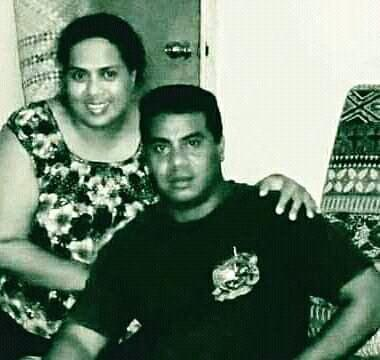 The last photograph Nickora Kaierua has of her and her brother Eritara Kaierua together.