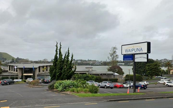 Auckland managed isolation facility, Waipuna Hotel in Mt Wellington.