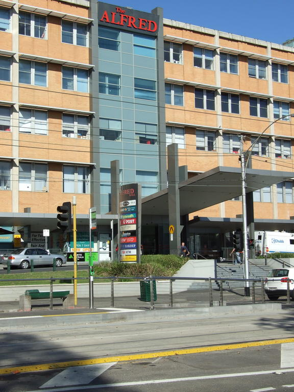 The Alfred Hospital, Commercial Road, Melbourne.
