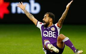 Perth Glory star Diego Castro.